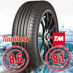 Sportnex AS-2+ TM- ja Tuulilasi-testimenestys-2+
