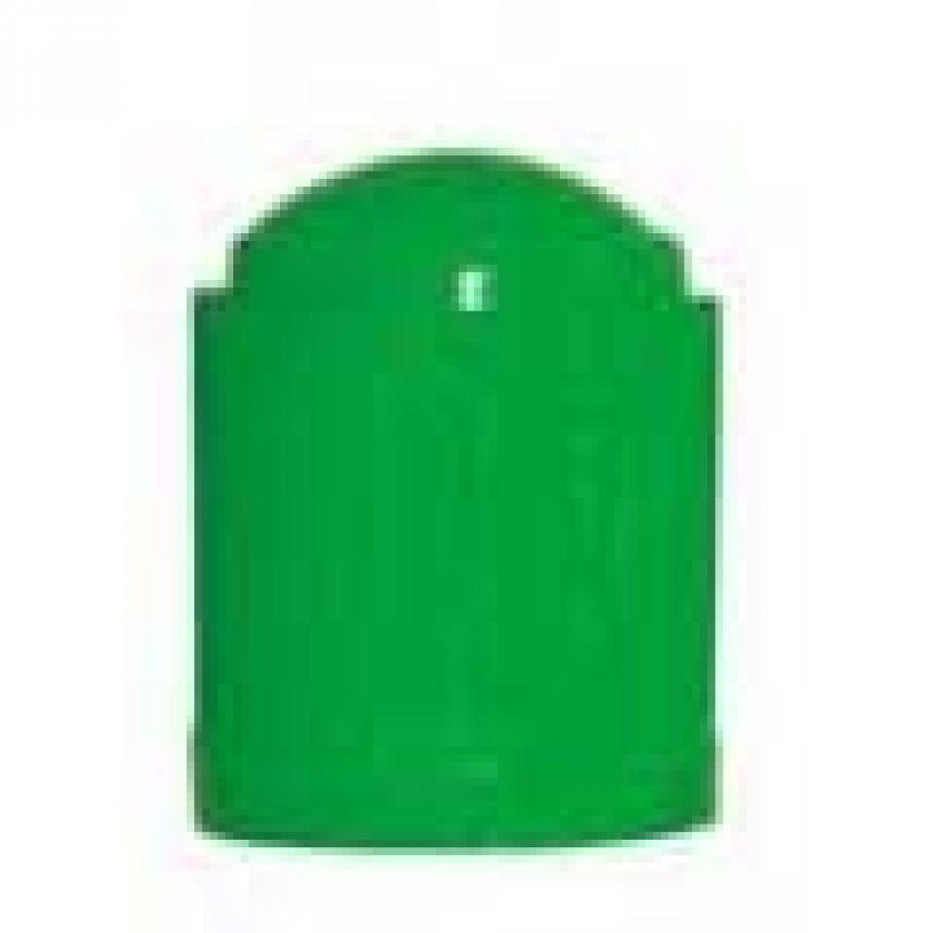 N2 Venttiilihattu vihreä typpitäyttöisiin renkaisiin 100 kpl pak